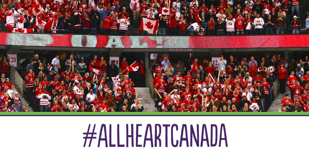 We're on the home stretch of #WorldJuniors + it's Team Canada's time to shine. RT to support them!#AllHeartCanada http://t.co/W2d5utzcEu