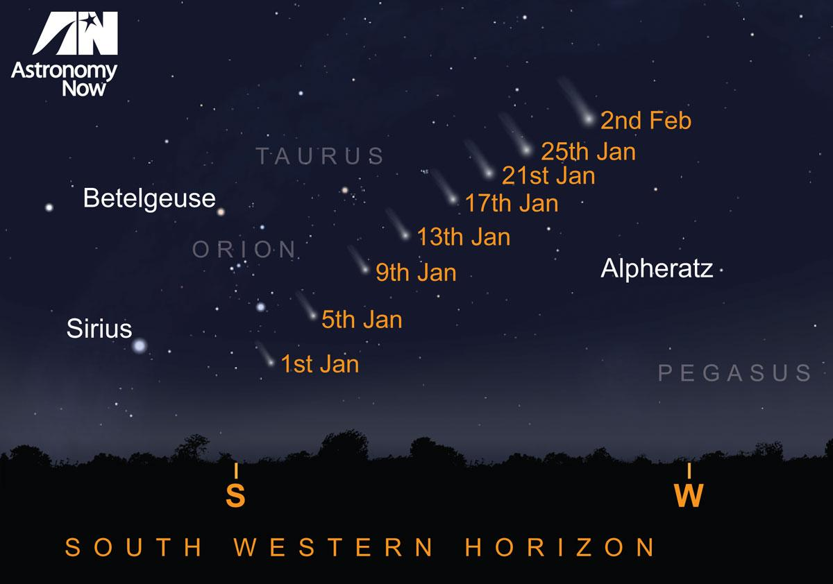 Where to look for #cometlovejoy Find out more: http://t.co/aGGHDpn8dZ http://t.co/CK7dx8FoAR