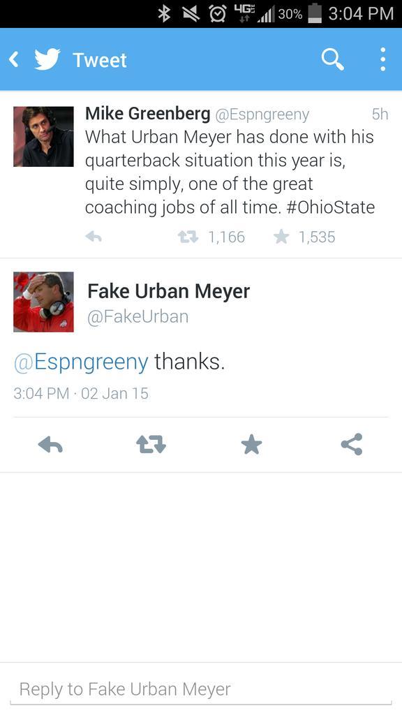Hahaha! Sometimes @FakeUrban makes my day!