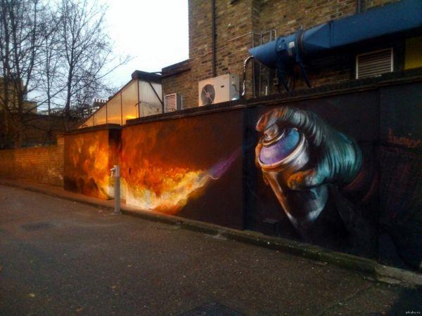 Graffiti in London: http://t.co/JbRvOqP6bi