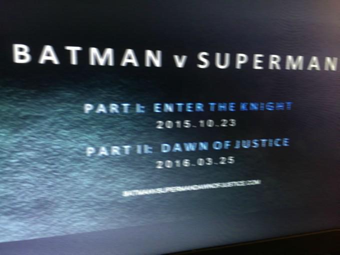 Претендент на звание пока что самого безумного слуха 2015-го: «Бэтмен против Супермена» будет разделен на 2 фильма http://t.co/QaXLLFVrKR