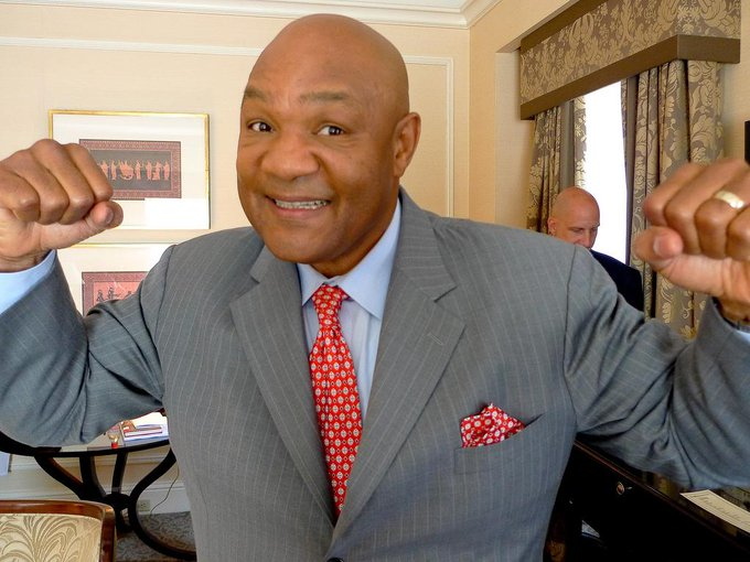 """Happy 66th birthday,\""""Big George\"""" Foreman, outstanding Heavyweight boxer & champion  \""""Rumble In"""
