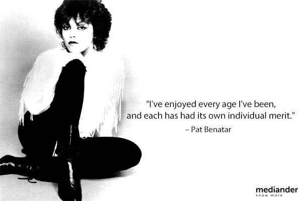 Happy birthday, Pat Benatar!