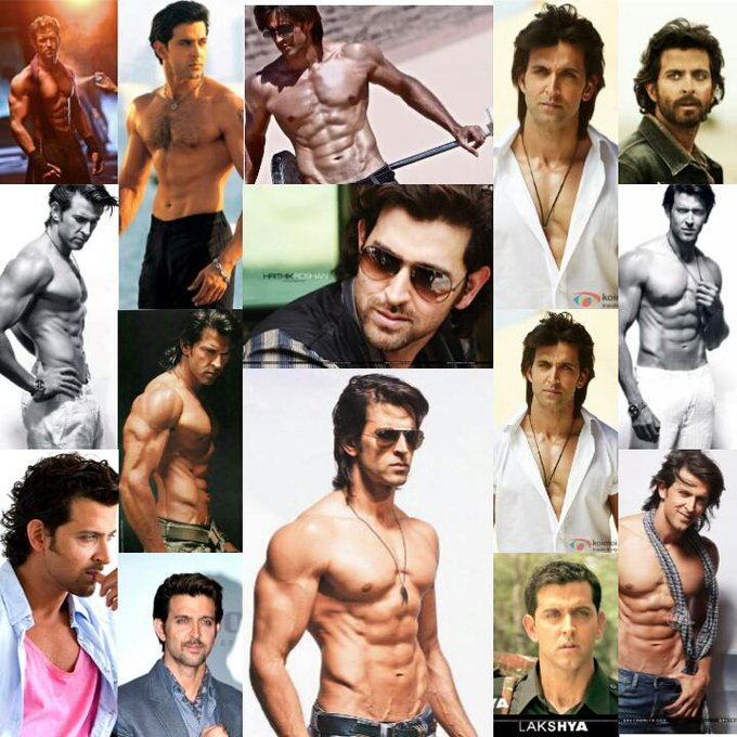 Happy 41th Birthday to the most handsome and charming actor in bollywood that is Hrithik Roshan <3