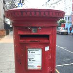 Post box is happy to see me http://t.co/tipmVcwrCY