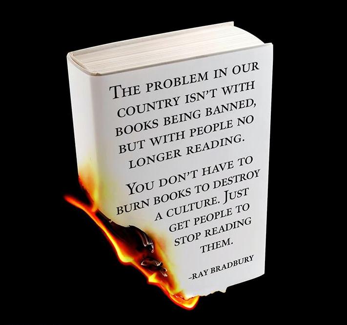 Love this Ray Bradbury quote (via @kobo)... http://t.co/lZF2PelKZ0