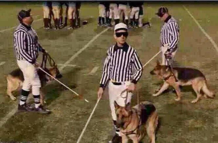"Are you easily influenced by home crowds, can you turn a ""blind"" eye ? Then join @nfl officiating crew ! http://t.co/o7VqnemyCZ"