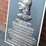 RT @CricketAus: The memorial to Phillip Hughes that will be installed outside the @scg dressing rooms #AUSvIND