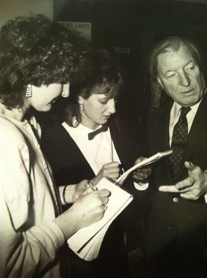 Myself and @GradySays Interviewed #Charlie when we were cub reporters for the Tallaght Echo back in 1984. http://t.co/3DXaTWGqb2