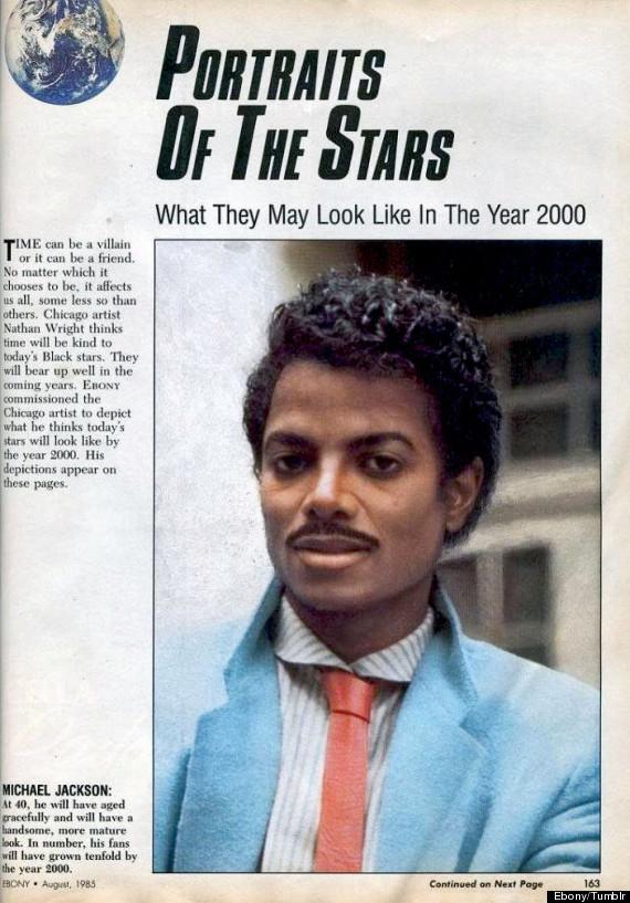 1985年に予想された2000年のマイケル・ジャクソン(写真)  http://t.co/z9bvZFbbEH http://t.co/RgJ7KOKqnC