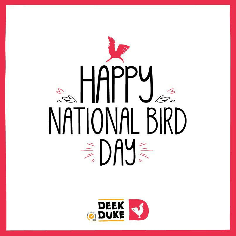 "Wish your favorite tweep a  ""Happy Bird Day full of #DeekDukeGoodness with @deekduke""  http://t.co/ZPL3LClDDl http://t.co/6D4fOYvWyg"