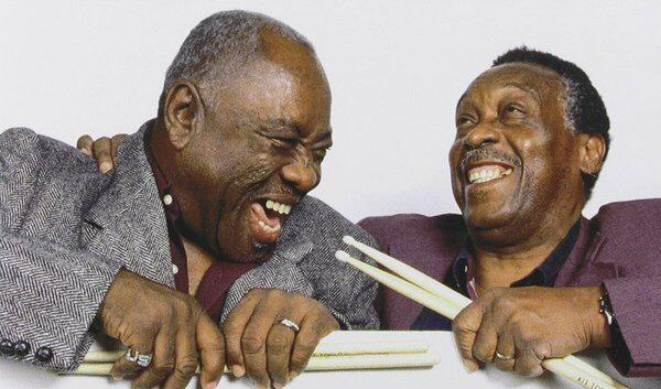 """""""It's a brotherly love."""" Meet James Brown's drumming duo. #BeatWeek begins on @MorningEdition http://t.co/3s8960oIVL http://t.co/YtqiphX0vQ"""