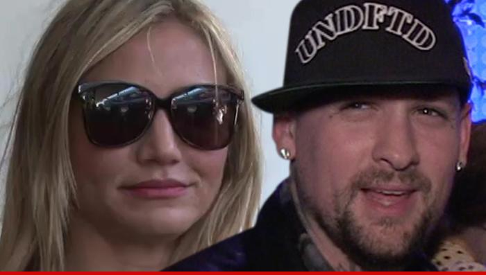Breaking: It sure looks like Cameron Diaz and Benji Madden are getting married TONIGHT