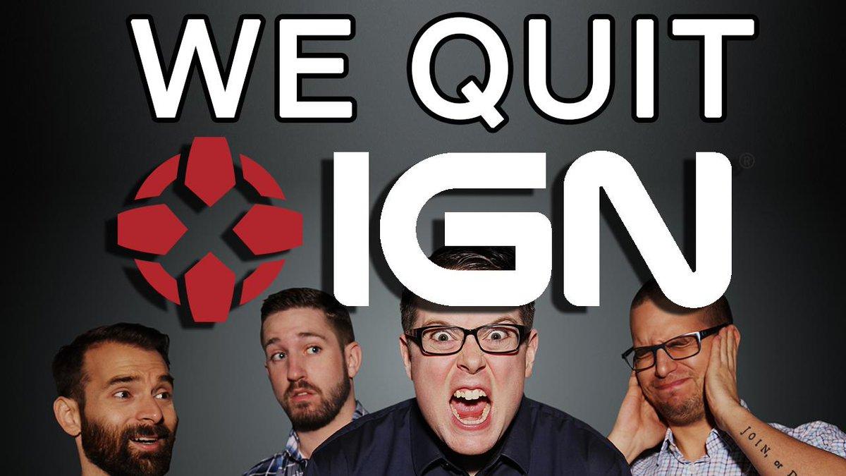 I quit IGN. #KindaFunnyGames http://t.co/JW76jHUzSt http://t.co/rICbbZ1crH
