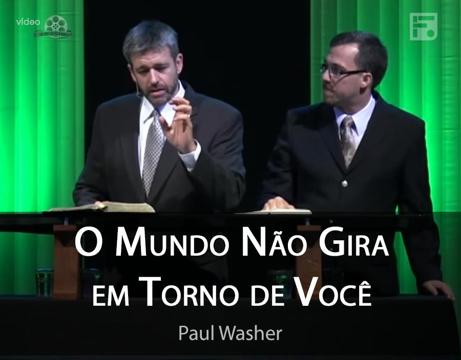 O Mundo não gira em torno de você! ASSISTA ao vídeo de Paul Washer: http://t.co/y7lvWPTUgA http://t.co/b3l94UW9aM