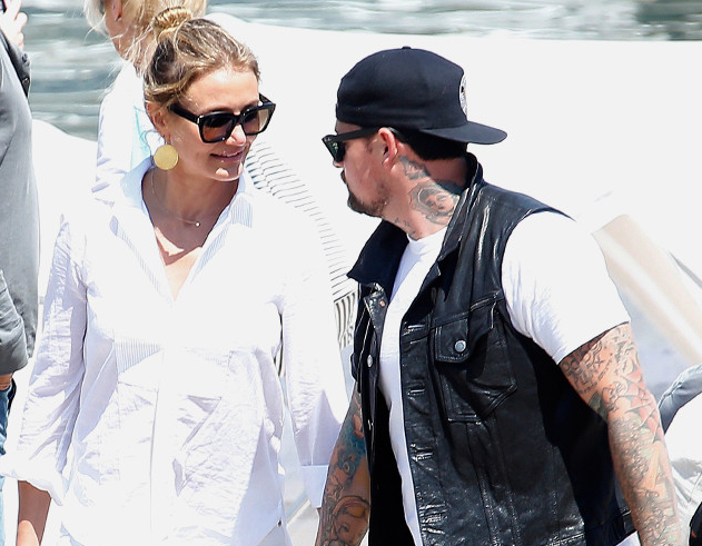 Wedding alert: Cameron Diaz & Benji Madden are getting married TONIGHT!