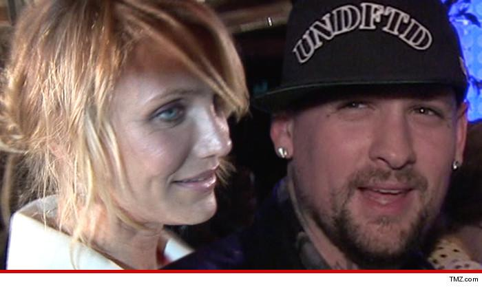 It sure looks like Cameron Diaz and Benji Madden are getting married TONIGHT