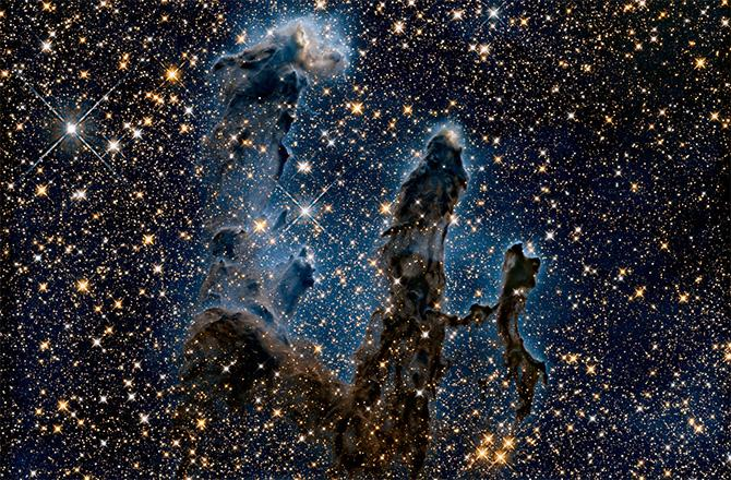 Hubble's Stunning New View of the 'Pillars of Creation' http://t.co/HBriTzT2pl by @astroengine http://t.co/dfm78cJMgc