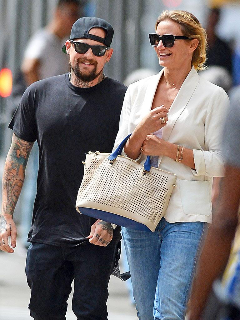 Congrats Cameron Diaz and Benji Madden — they're married!