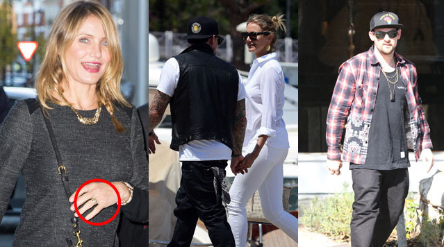 Congratulations to Cameron Diaz and Benji Madden - who married last night in LA!
