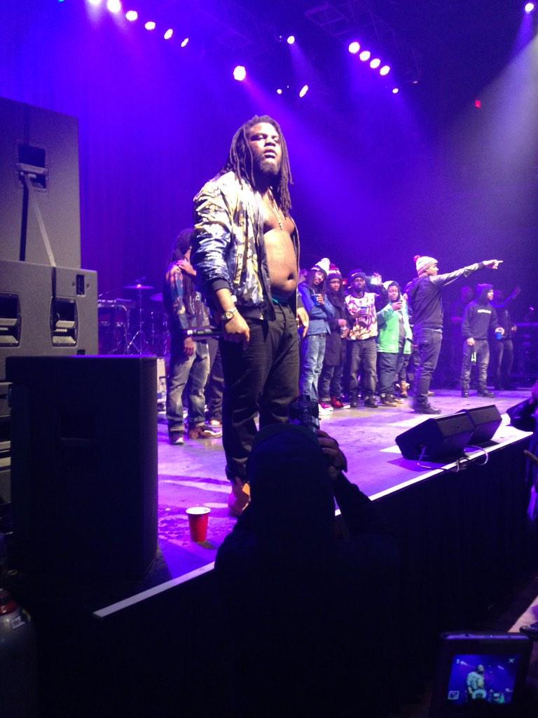 @FATTREL was rocking at the Fillmore on my birthday. http://t.co/VwyRPaeAVb