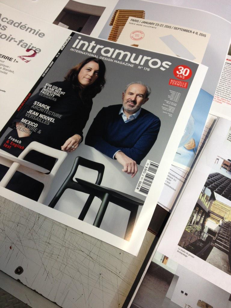 A sortir le mardi 13 le 1er numéro année des 30 ans du magazine #design #intramuros30ans http://t.co/gX9keqb3ch