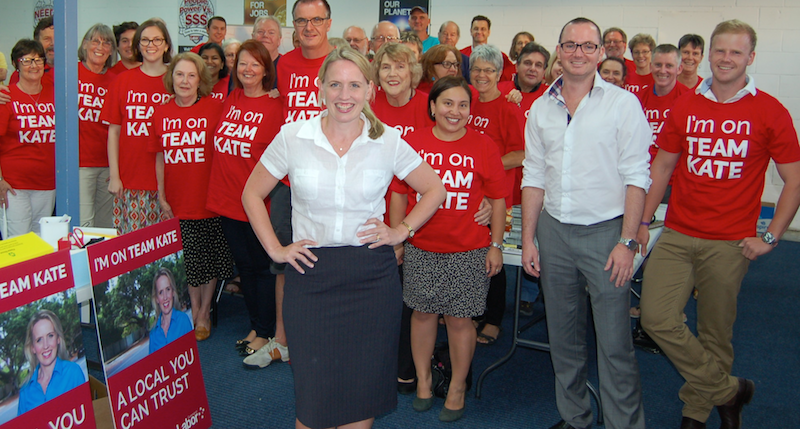 Have been truly energised by the support of so many locals offering their help tonight #teamkate is underway #qldpol http://t.co/p1wMBtIY6B