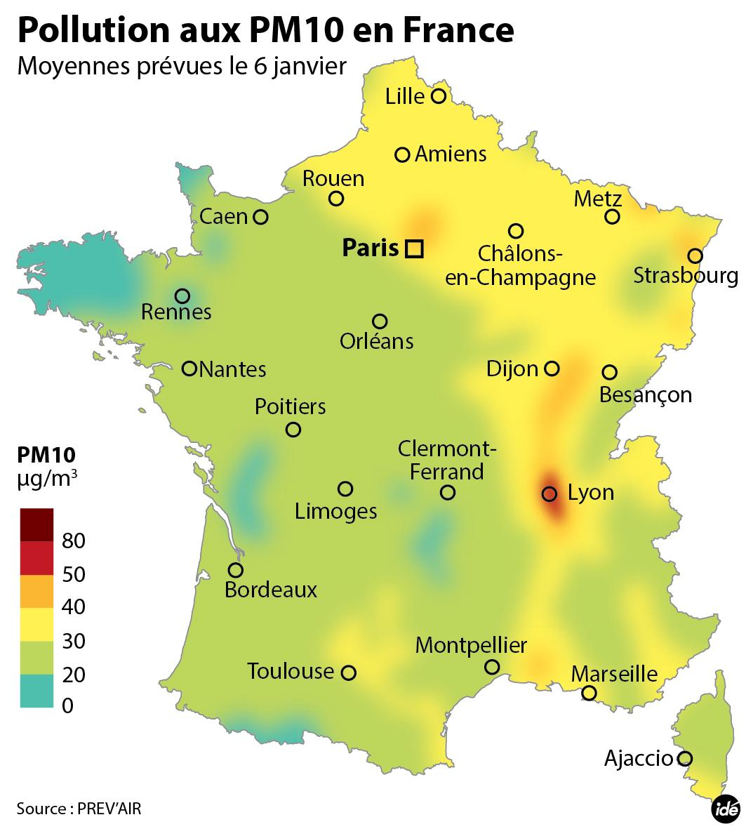 Carte Pollution Bordeaux.La Pollution De L Air Peut Tuer Meme A Court Terme Carte Des Zones