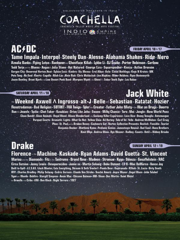 I'm so happy to announce that we're playing Coachella!! Truly a dream come true! http://t.co/eP5YyM4cKv