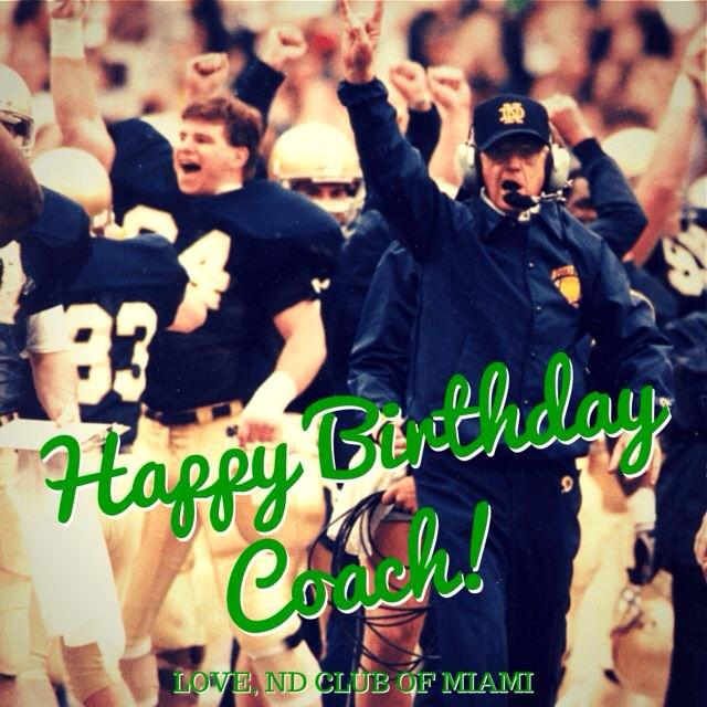 Happy 78 years young, @ESPNDrLou!! #NDfamily http://t.co/JrWwRmPKyu