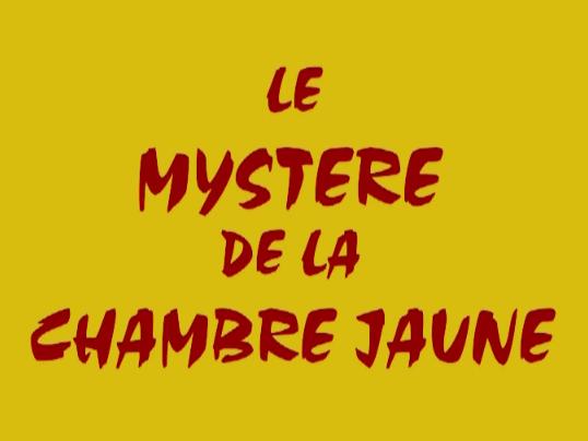 Lucidez le myst re de la chambre jaune canope ducation ensemble jeu - Mystere de la chambre jaune ...