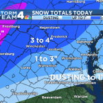 RT @TomKierein: #WeatherAlertDay SNOW TOTALS this morning with a few higher amounts in isolated higher elevations: http://t.co/wCsk2THNT7