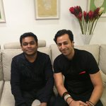 RT @salim_merchant: Great time chatting with @arrahman on his birthday! http://t.co/npgNX0bSnD