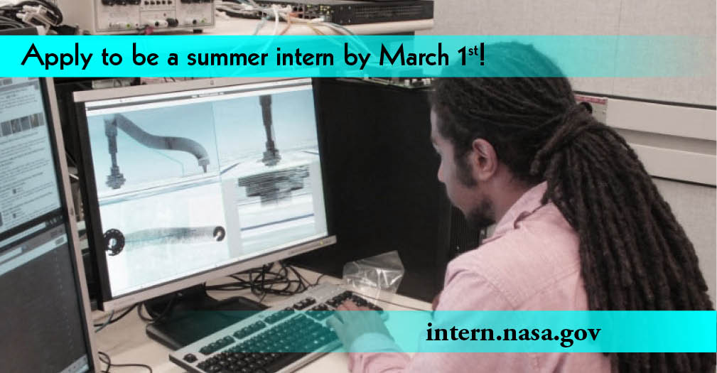 Is working for @NASA on your #bucketlist Apply to become a summer #intern today! http://t.co/5iXhux9Hum http://t.co/5FmmTsdiuT