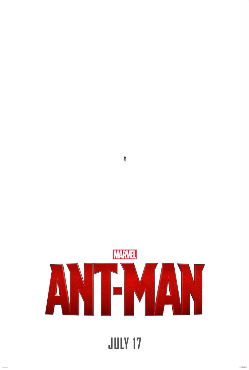 """New antman poster is great http://t.co/2ReM9UpKiC"""""""