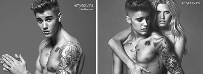 OMG @justinbieber stripped down to his undies for the new @CalvinKlein ads! http://t.co/WGFt1Yqgir http://t.co/hYa5ewqJf8