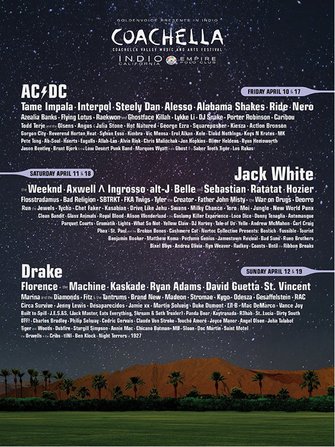 We're excited to announce we're playing @coachella!! April 12th and 19th! http://t.co/SZbDBpZWeb