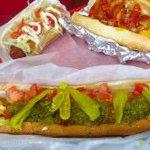 Image of hotdog from Twitter
