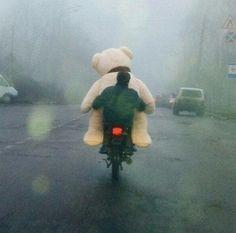 Just hangin' ... wiv ma' bear... http://t.co/kqAgQ9cXUO