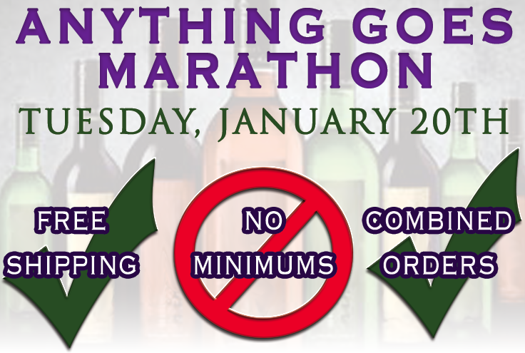 ANNOUNCEMENT: Anything Goes Marathon is set for #Tuesday January 20th! #FreeShipping #NoMinimum and Combined Orders! http://t.co/wkSyLpGQIa