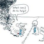 #QLDpol, #abbott offers #newmanc by @mdavidcartoons © http://t.co/vDNl6RvICh #QldVotes #auspol http://t.co/8DXfNTDvwD oㄥO