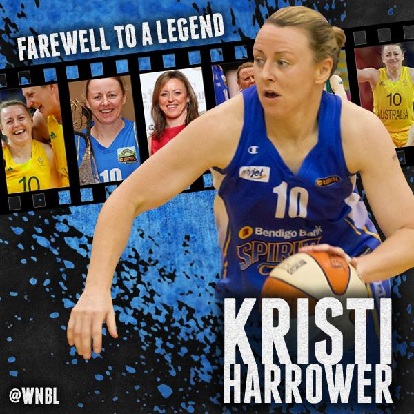 FAREWELL TO A GREAT: #WNBL legend @kristiharrower announces her retirement from basketball. http://t.co/S9qIQwyHE0 http://t.co/3ubN6WNqzw