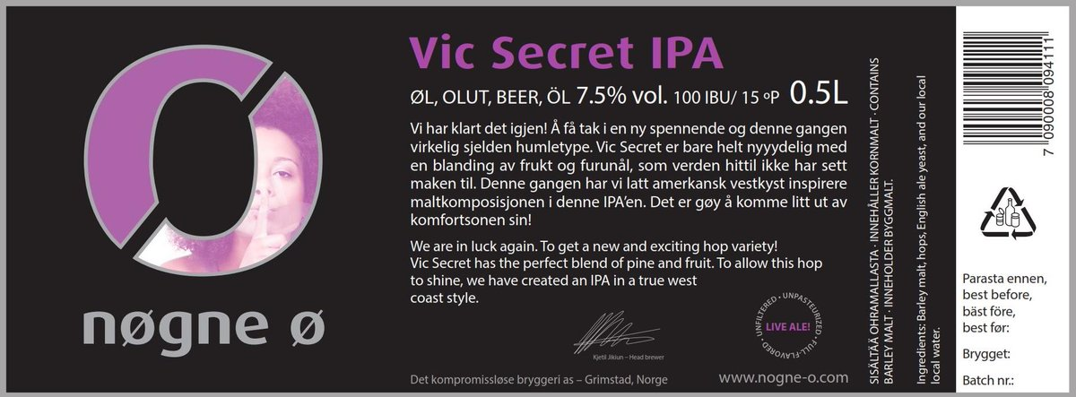 Nøgne Ø Vic Secret. Now part of our standard range. Cheers! http://t.co/jdg9Yc3skq