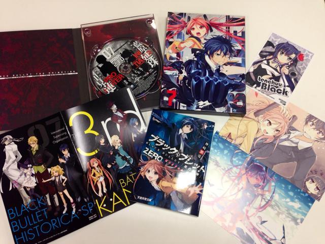 ブラック・ブレットBlu-ray&DVD第7巻本日発売!ついに最終巻となりました!ジャケットは蓮太郎&延