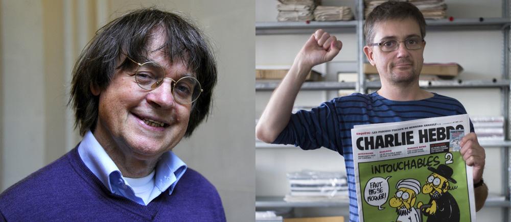 殺された編集長、漫画家。彼らをボディガードしていた警察も射撃されたRT @LePoint: [INFO LE POINT]  Cabu et Charb sont décédés http://t.co/r9zbO8W9BG http://t.co/cdESn9WzAb