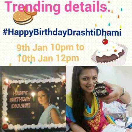 Ready for Trend guys on DD birthday     Happy Birthday Drashti Dhami