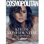 I can't wait to get @khloekardashian New Cosmo cover on stands now! This shoot is so pretty! http://t.co/0xApD7PUlG