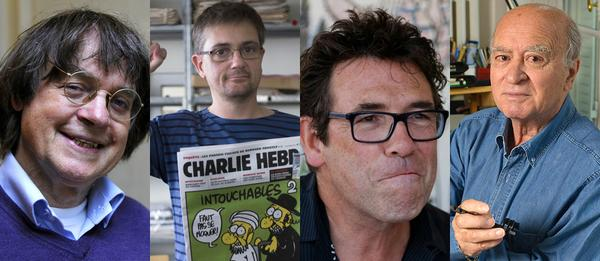 RIP #Wolinski, #Cabu, #Tignous, #Charb, great journalists/cartoonists, dead in the name of freedom of expression... http://t.co/29PgI5eHKd