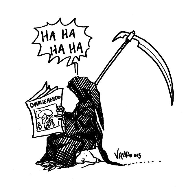 RT @VauroSenesi: #CharlieHebdo @Charlie_Hebdo_ http://t.co/ItOi7u6FVF