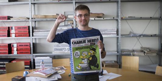 Charb : « Je préfère mourir debout que vivre à genoux » http://t.co/785rNCO7Bk http://t.co/2CKBa8V6rs
